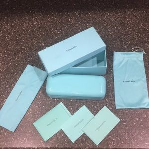 Tiffany & Co. Sunglasses eyeglass hard case pouch